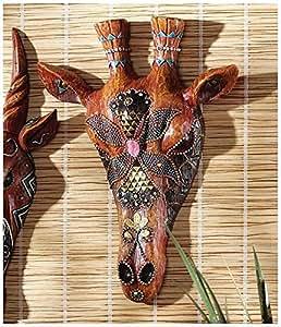 Diseño Toscano Jirafa máscara