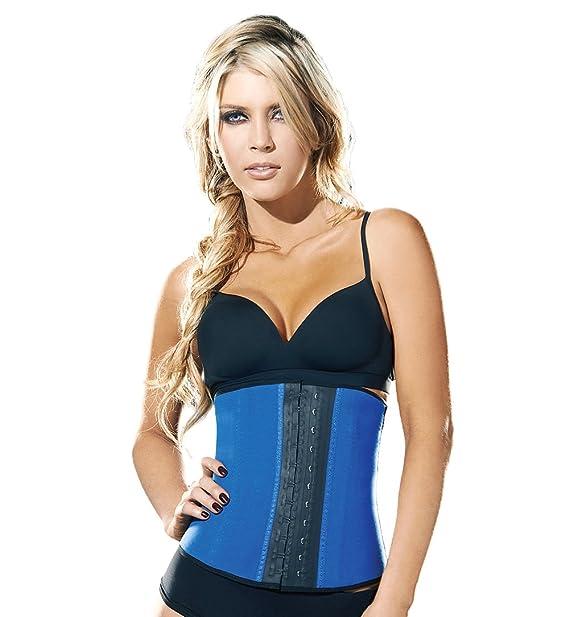 78ee51362ae Ann Chery Women s Faja Deportiva Workout Waist Cincher Blue  Amazon.ca   Clothing   Accessories