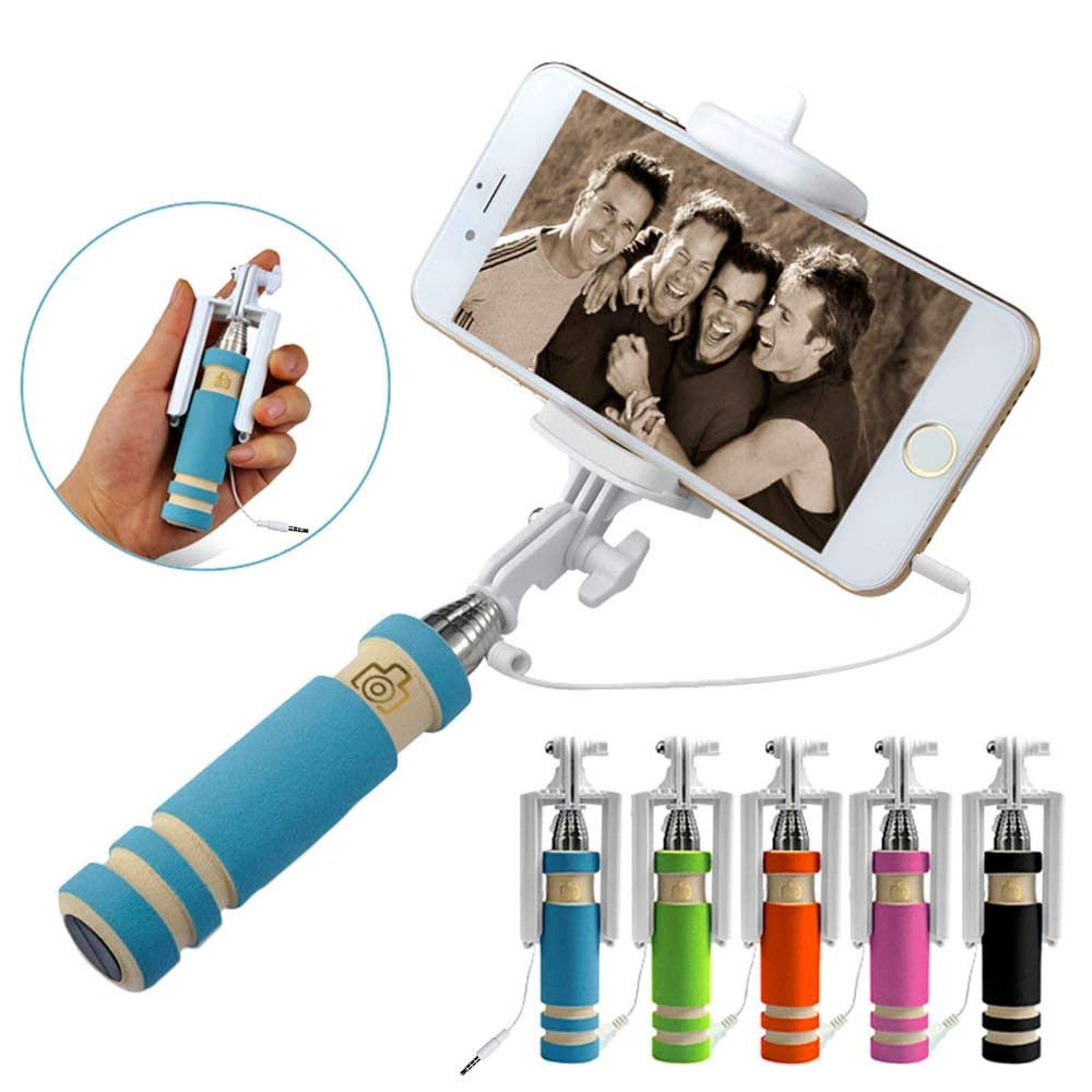 Selfie Stick Smallest & lightest Selfie Pod/Monopod Fits iPhone Android Samsung and iso Smartphone LSVTR