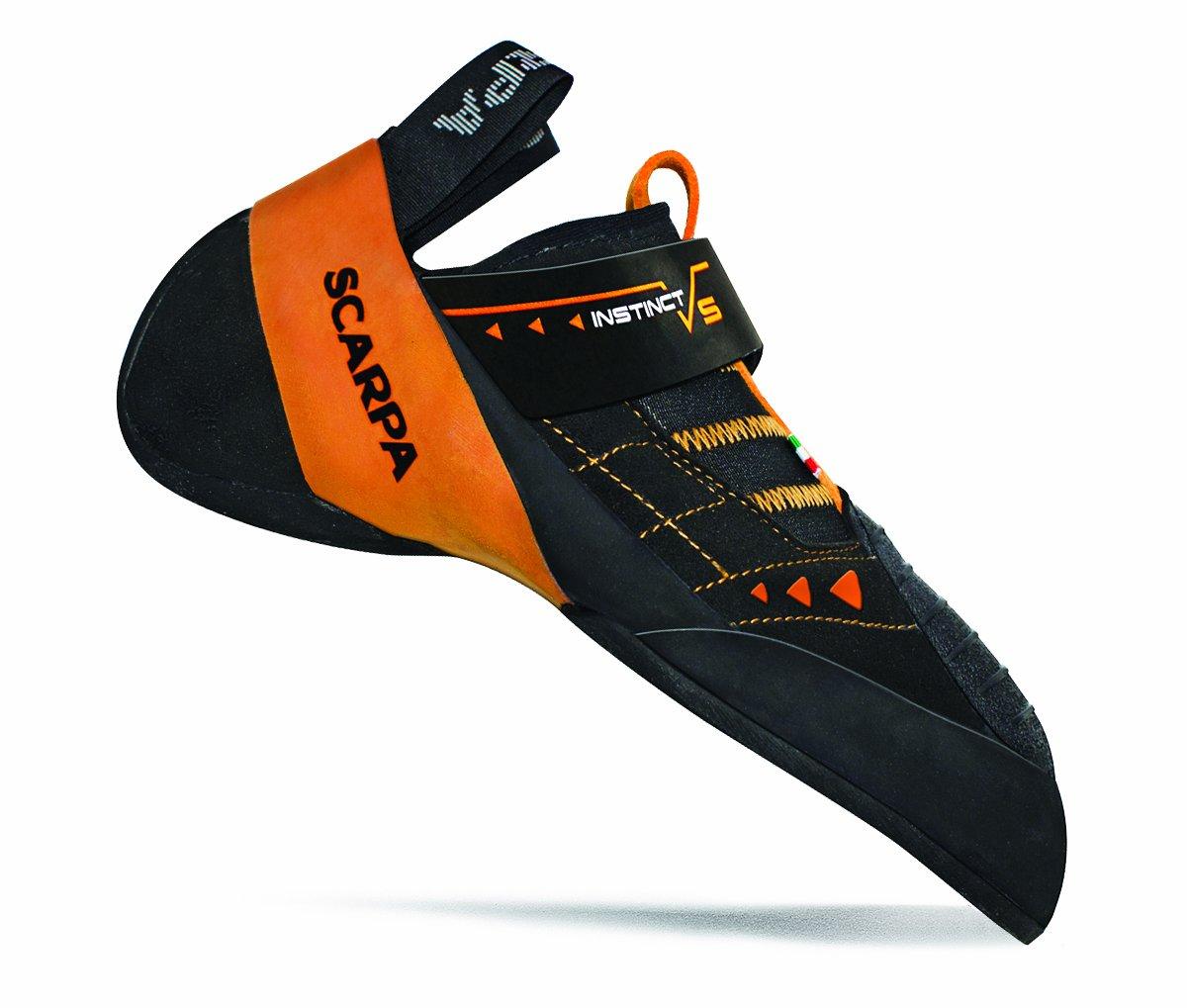 Scarpa Men's Instinct VS Climbing Shoe,Black,44.5 EU/11 M US by SCARPA