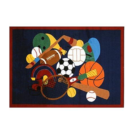 Fun Time American Sports Rug Size: 1u00277u0027u0027 ...