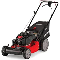 Craftsman M215 159cc 21-Inch 3-in-1 High-Wheeled FWD Self-Propelled Gas Powered Lawn Mower with Bagger