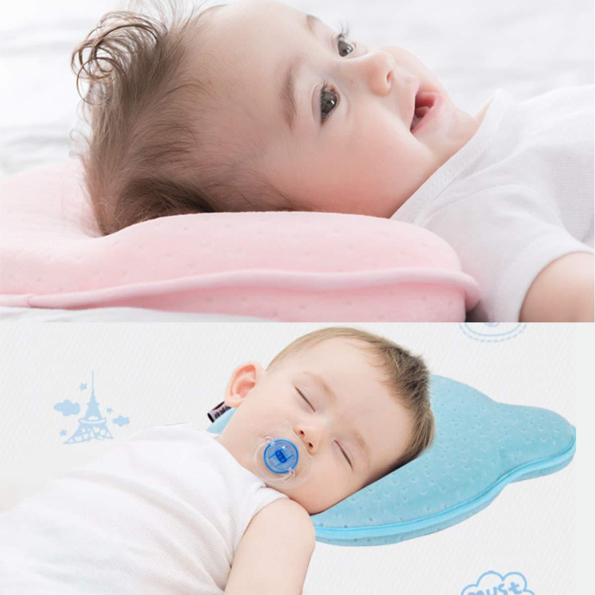 Amazon.com: Almohada de bebé para prevenir el síndrome de ...