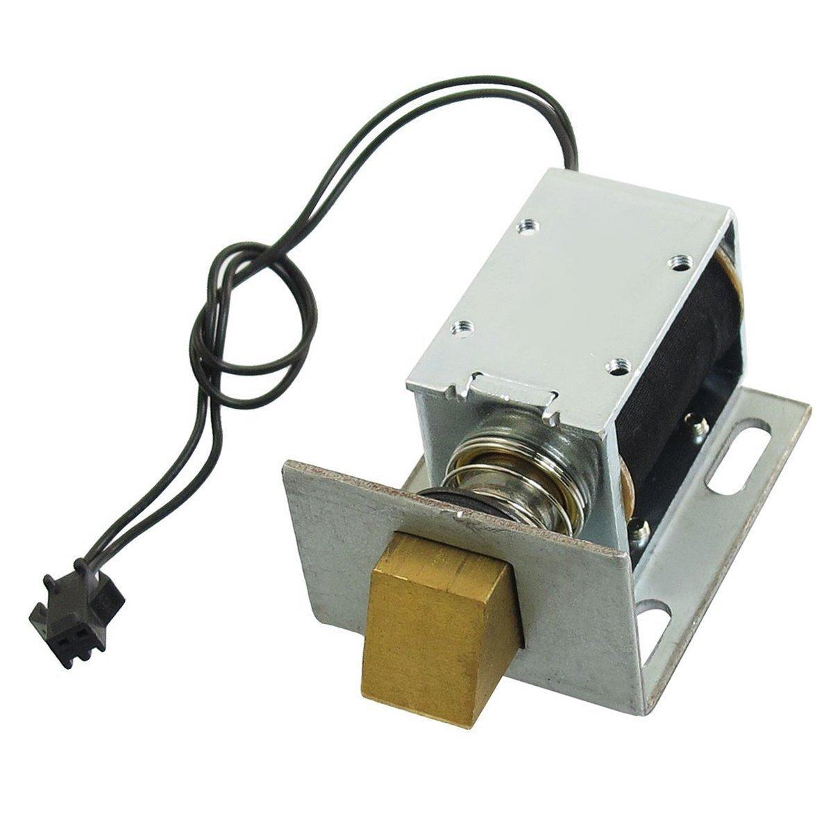 Saim Solenoid for Electric Door Lock, 1240L-12E07 DC 12V 20.6W , 1kg Holding YPP170118001