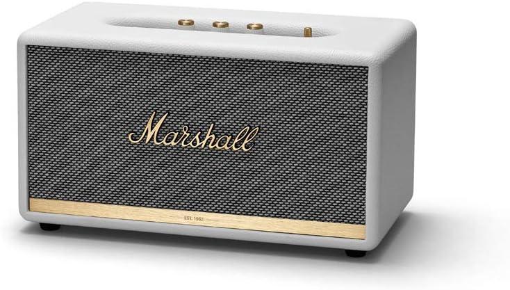 Amazon Com Marshall Stanmore Ii Wireless Bluetooth Speaker White New Electronics