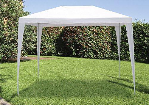 VERDELOOK Cenador 2 x 3 m, blanco, tela de polietileno: Amazon.es ...