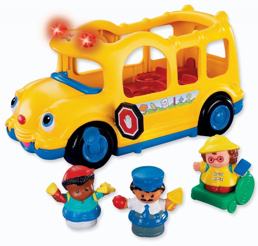Amazon.com: Toy / Game Fisher-Price Little People Lil\' Movers ...