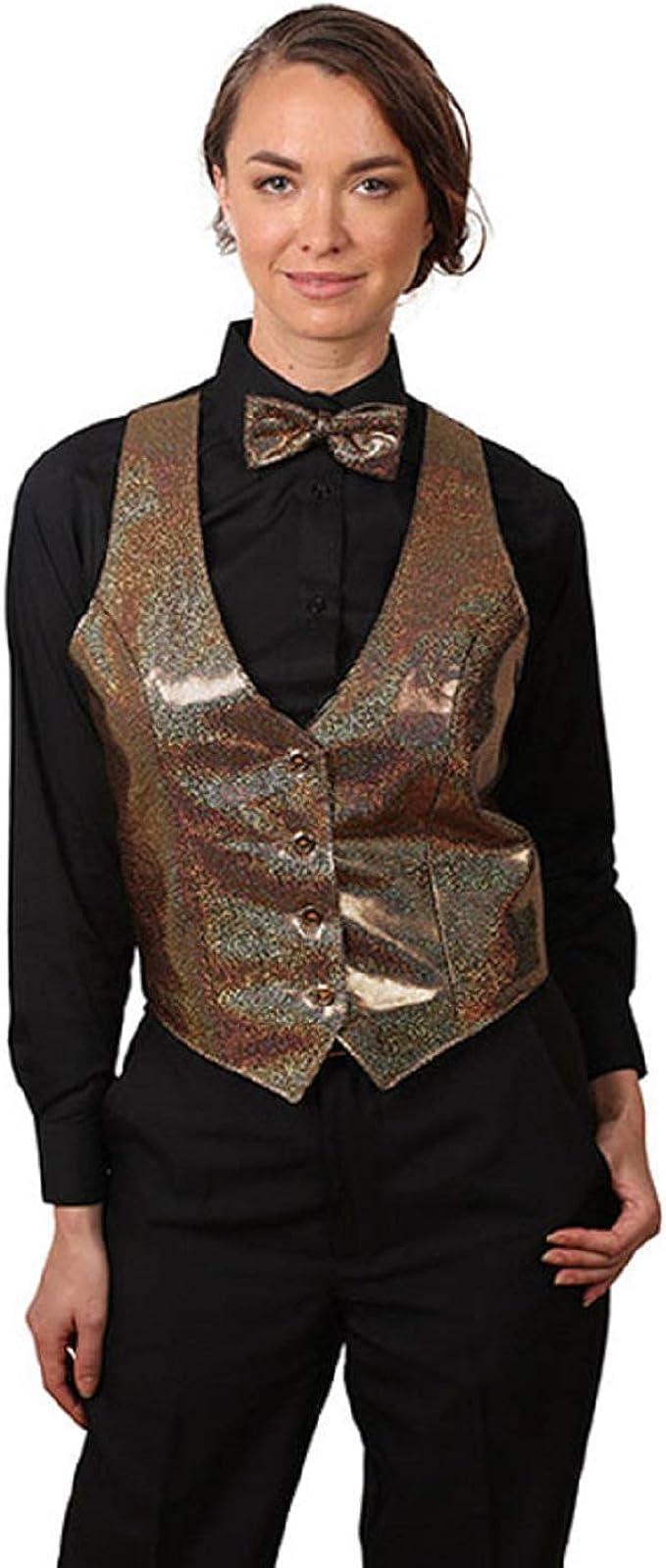SixStarUniforms Womens Sequins Vest