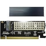 GLOTRENDS M.2 NVMe M.2 SSD(キーM)アダプタカード (2230/2242/2260/2280 サポート) ヒートシンク付き(PA05-HS)