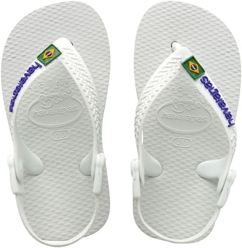 Chanclas para Unisex Ni/ños Havaianas Baby Brasil Logo