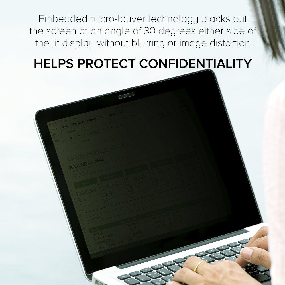 Celicious Privacy 2-Way Anti-Spy Filter Screen Protector Film Compatible with ASUS Vivobook E200HA