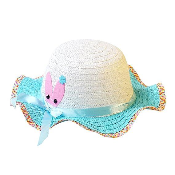 Sombreros de Paja de Sol Playa Gorra de Bola ala Ancho Protector Visera de  Verano Solar ab48dd22269