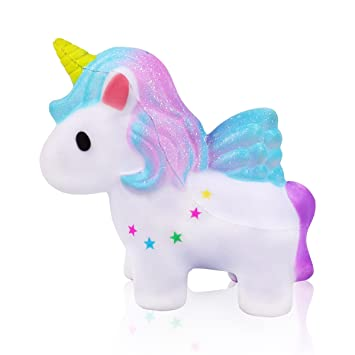 Mi Ji Squishy Kawaiisquishy Unicorniosquishy Doll De Diseño