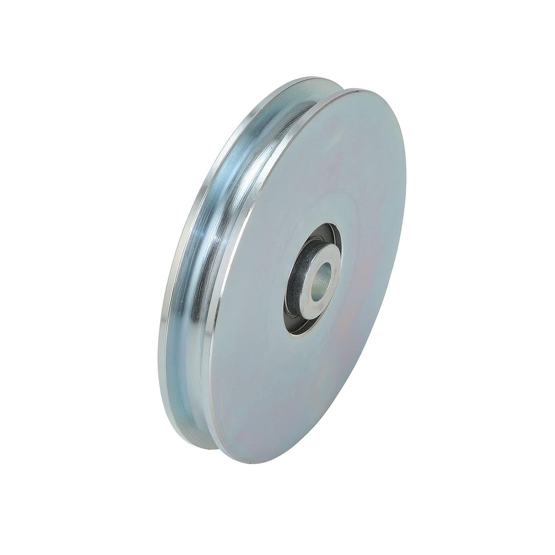 Seilrolle mit Lagerschalen Stahl /Ø60 mm Seilst/ärke bis /Ø 6 mm