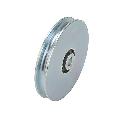 Polea 60 ømm para cable de acero Diámetro 6 mm