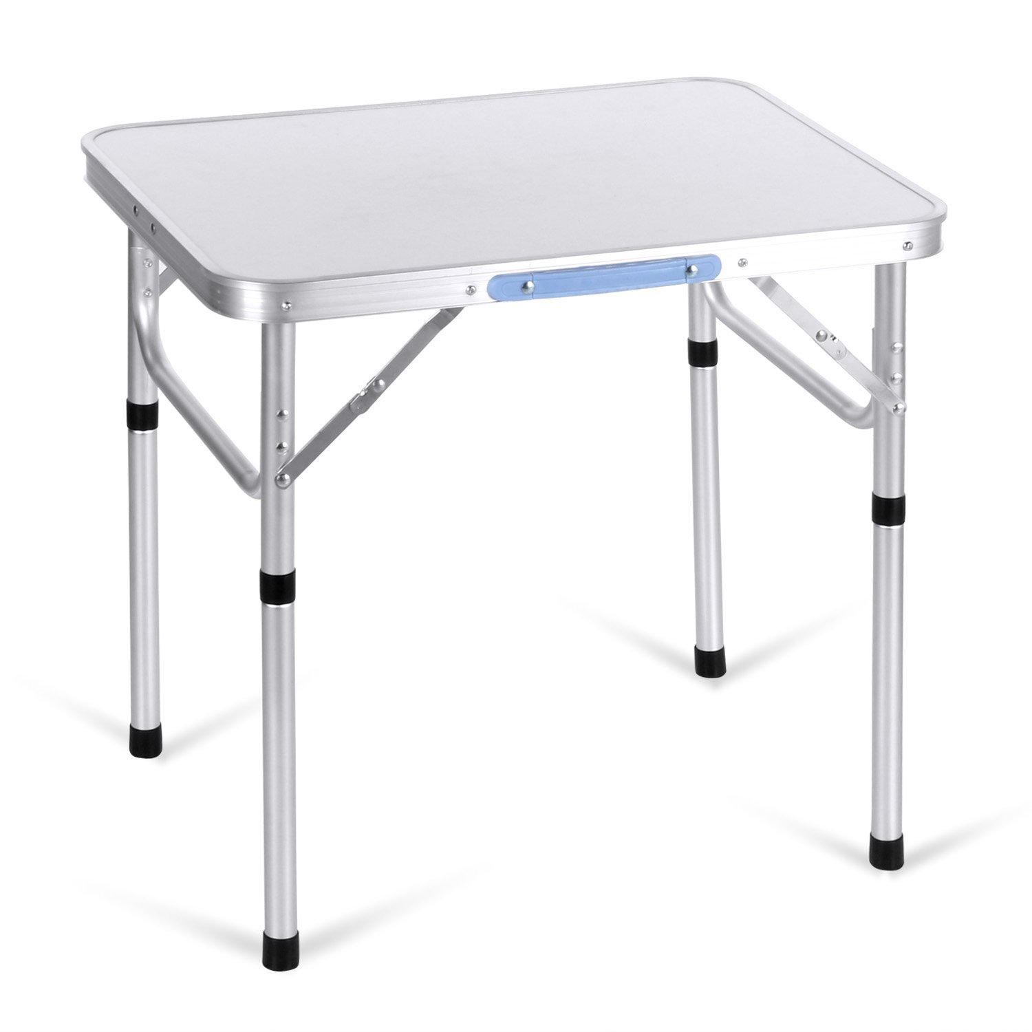 Moroly Aluminum Portable Folding Camping Table with Carrying Handle for Camping/Picnic/Working/Garden/Hiking/Beach/BBQ/Party(US Stock) (2 FT-2)
