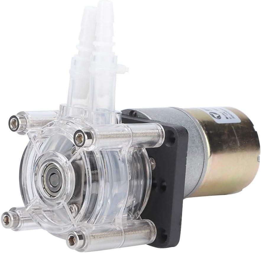 SANON Bomba de Vacío Bomba Peristáltica 12V Dc Motorreductor de Gran Flujo Fuerte para Equipos de Lavandería de Cocina