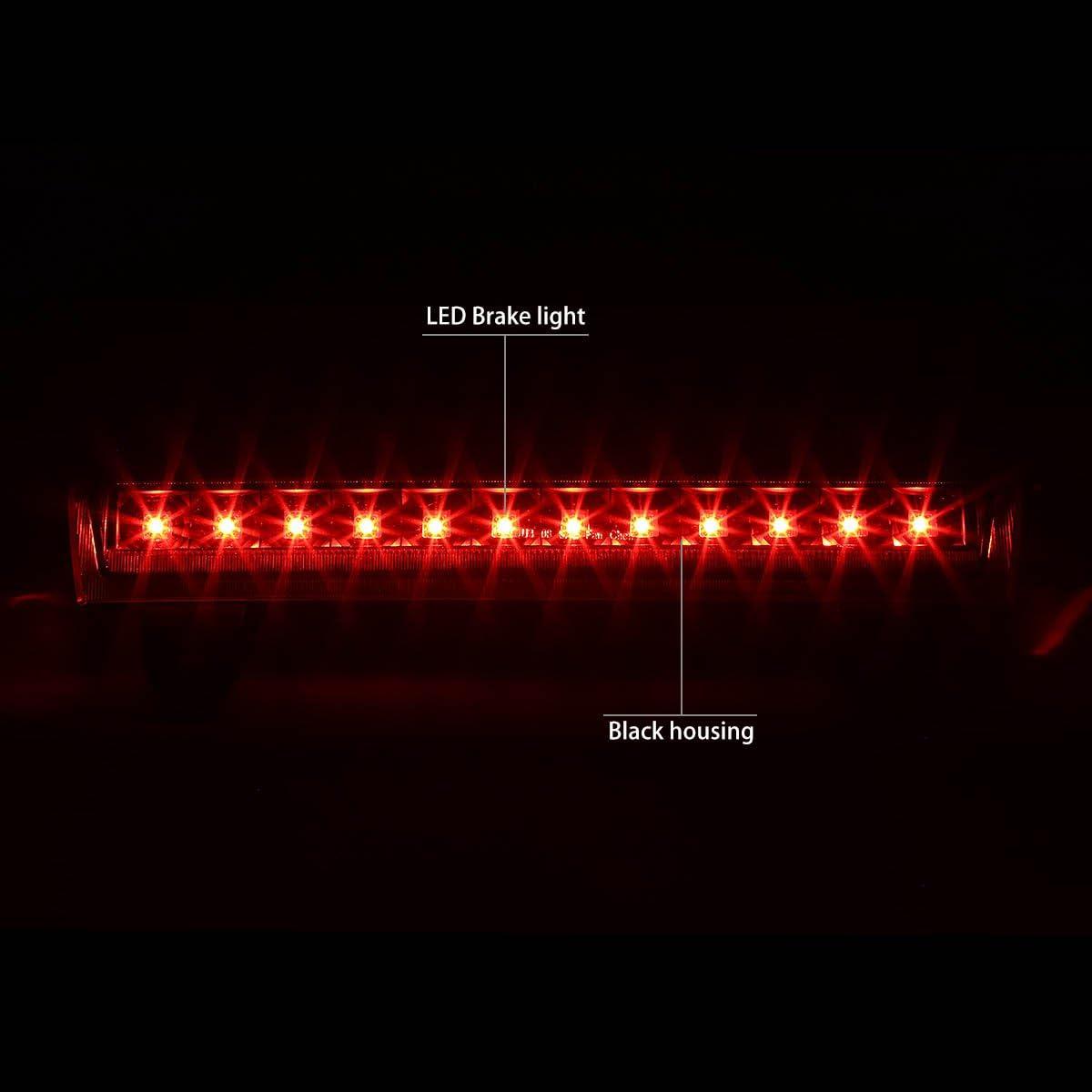 DNA MOTORING 3BL-GMCD00-LED-BK-SM Third Brake Light