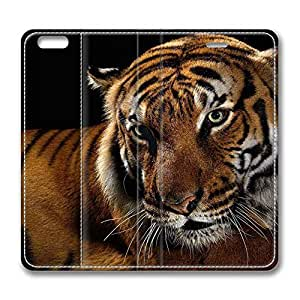 Brain114 5C, iPhone 5C Case, iPhone 5C Case, Beautiful Tiger 2 PU Leather Flip Protective Skin Case for Apple iPhone 5C