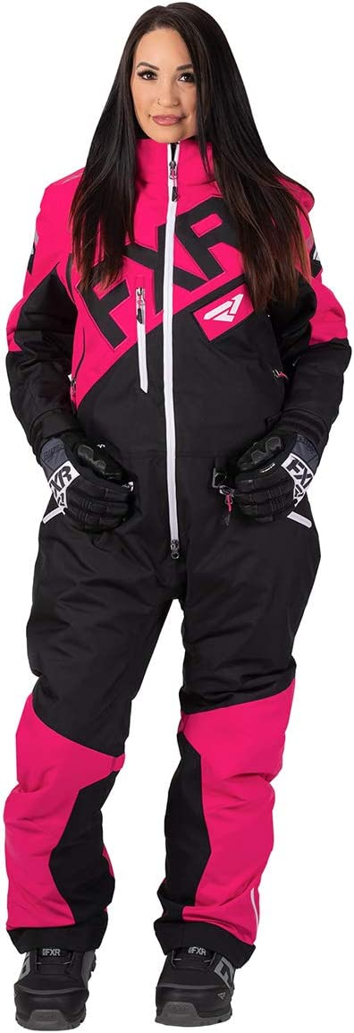 FXR Squadron Womens Monosuit 8 Mint//Black//Charcoal