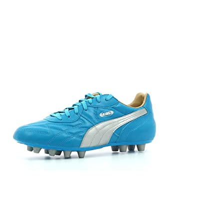 fd2778d10c8ab5 Puma King Top City Di Marseille FG Football Boots - Blue Silver  Amazon.co. uk  Shoes   Bags
