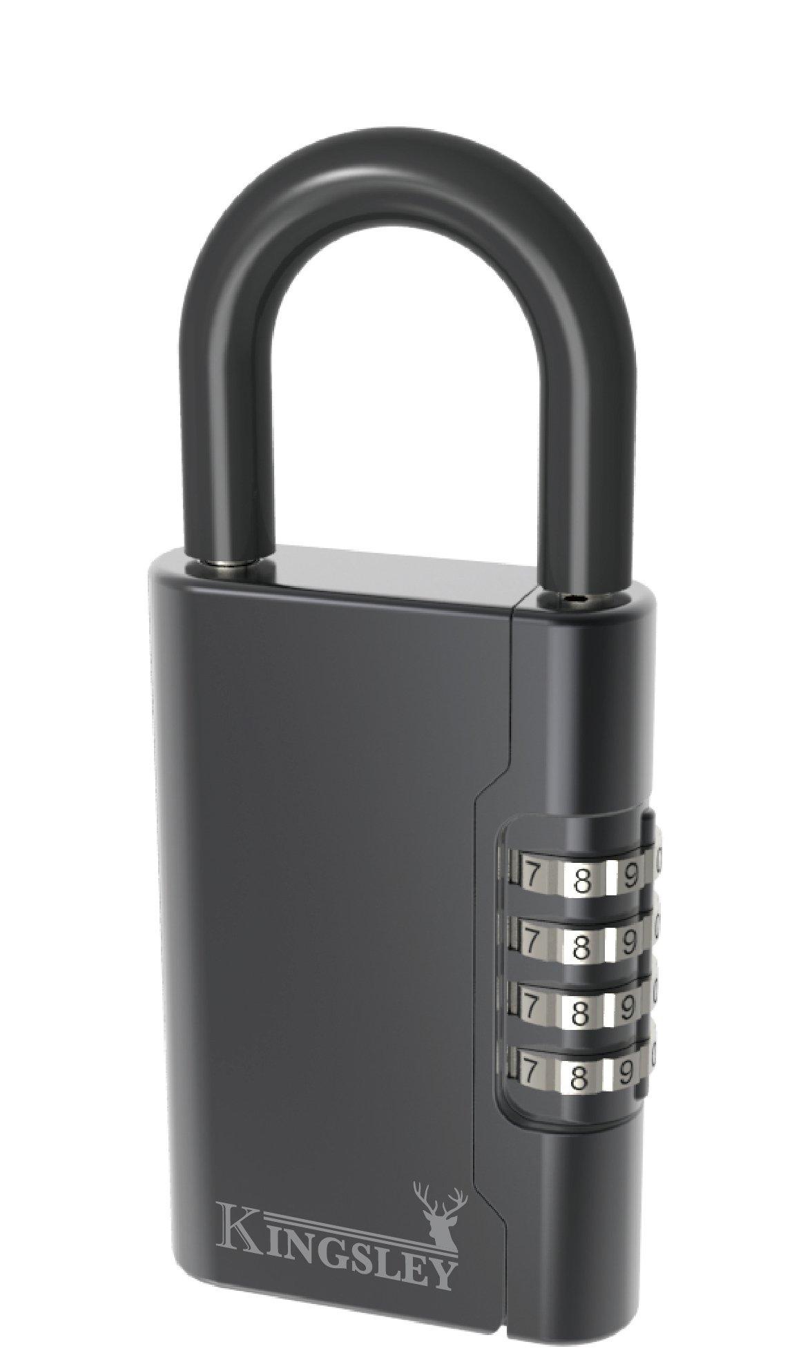Kingsley Guard-a-key Black Realtor's Lockbox by Kingsley