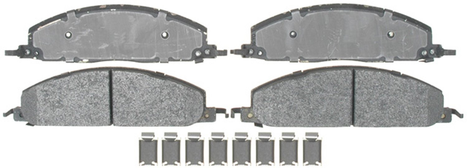 ACDelco 17D1400MH Professional Durastop Semi-Metallic Rear Disc Brake Pad Set