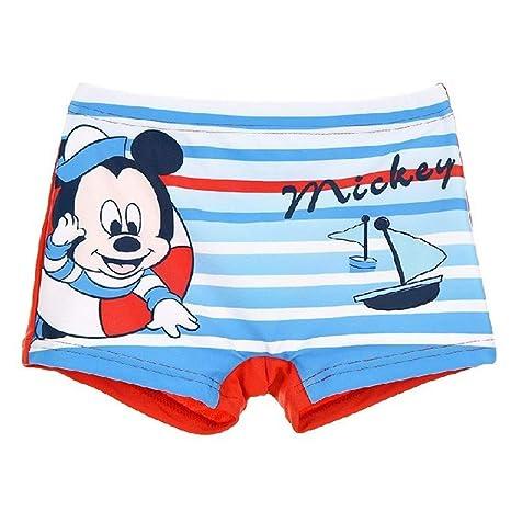 Disney SE0222ROJO - Traje de playa de Mickey Mouse, diseño ...