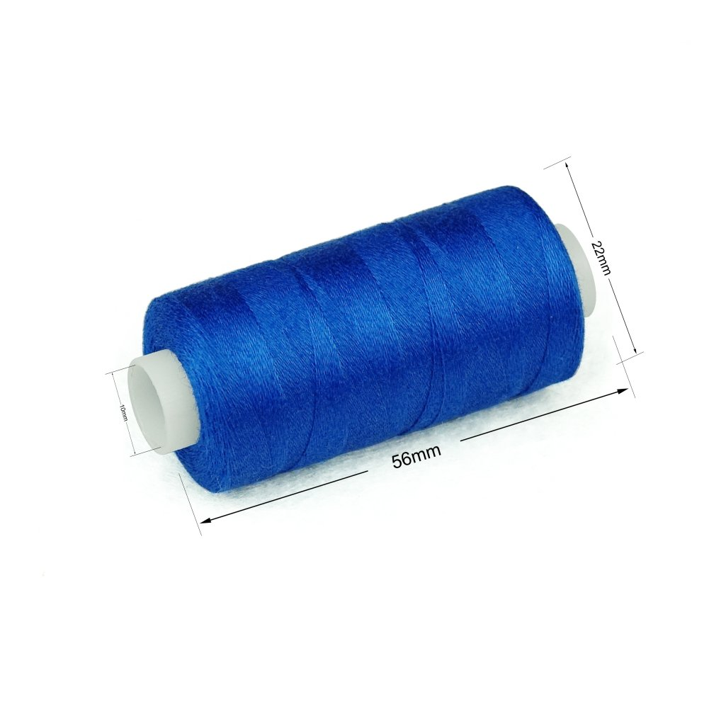20 Colors 550 Yards Each Simthread 20 Colors All Purposes Cotton Quilting Thread 50s//3 Thread for Piecing Sewing etc
