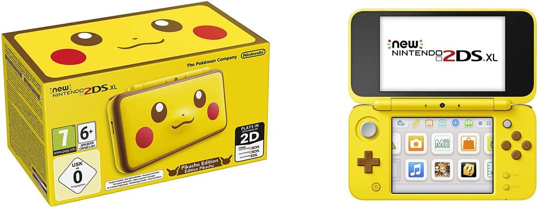 Nintendo New 2DS XL - Consola Pikachu - Edición Limitada: Nintendo ...