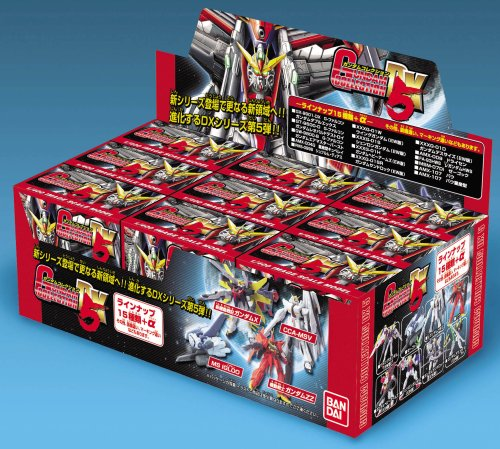 Bandai Hobby DX5 Gundam Collection (Box/9)