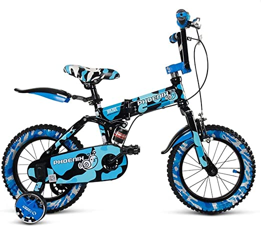 CÄKO Mini Bicicletas Niños Bicicleta Niño Doblar Bicicleta 3-6-8 ...