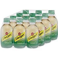 SCHWEPPES, Ginger Ale 296 ml, Botella de Vidrio, 12 piezas