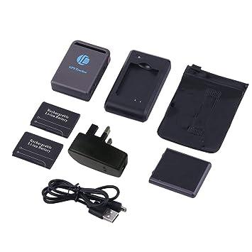 Funnyrunstore TK102B GPS portátil Mini Precise GPS/gsm / GPRS Tracker Localizador de Localizador de Puntos Localizador de Autos en Tiempo Real (Color: ...