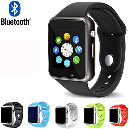 Bluetooth Smart Watch Smartwatch Touch Screen Smart Watch Phone Fitness Tracker SIM SD Card Slot Camera Pedometer Compatible iPhone iOS LG Android ...