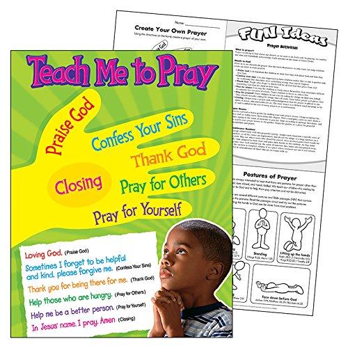 TREND enterprises, Inc. Teach Me to Pray Learning Chart, 17