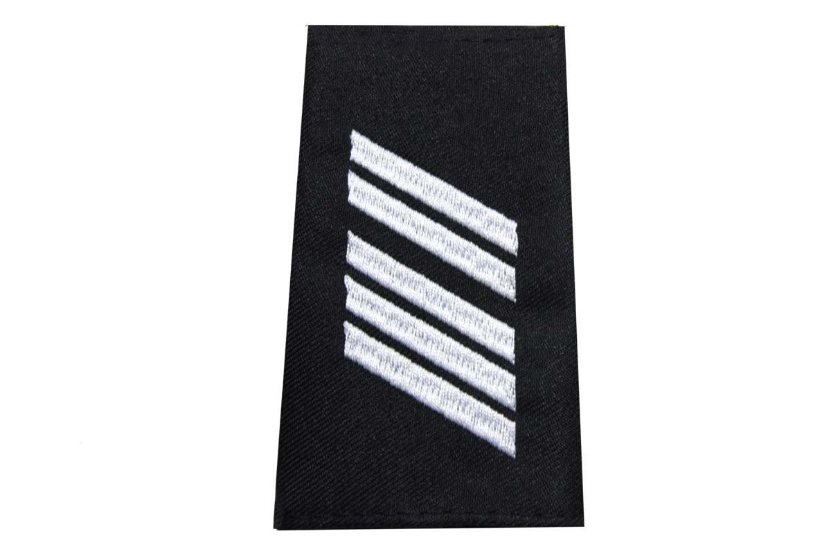 Unbekannt Rangschlaufen f/ür Schulterklappen Farbe:Schwarz f/ür die Deutsche Bundeswehr Heer