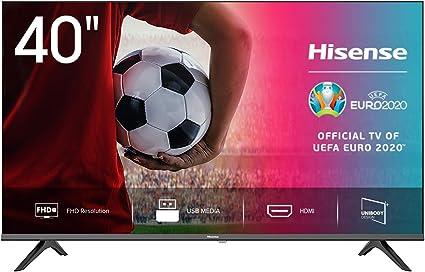 Hisense FHD TV 2020 40AE5000F - Feature TV Resolución Full HD, Natural Color Enhancer, Dolby Audio, HDMI, USB, Salida auriculares: Amazon.es: Electrónica