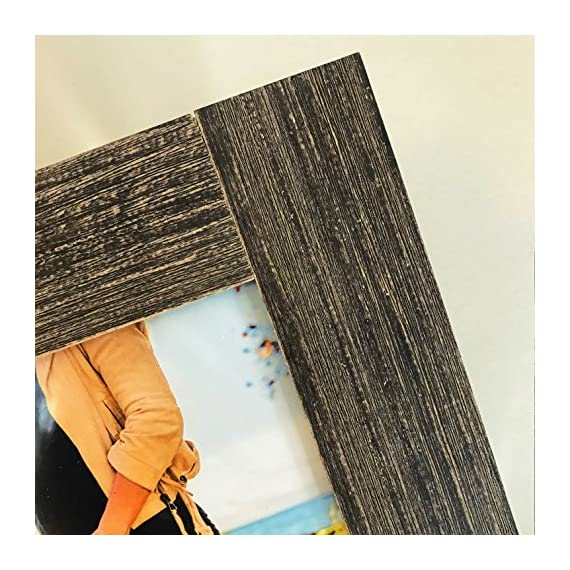 Tiny Mighty Frames 3-Set, Distressed Wood, Square Instagram Photo Frame, 4x4 (3.5x3.5 Window) (3) - Fits 4x4 inch prints (Window 3.5 x 3.5) Individual frame outside edge dimension: 6 x 6 inches Material: Glass and wood - picture-frames, bedroom-decor, bedroom - 617CNWOQ2GL. SS570  -
