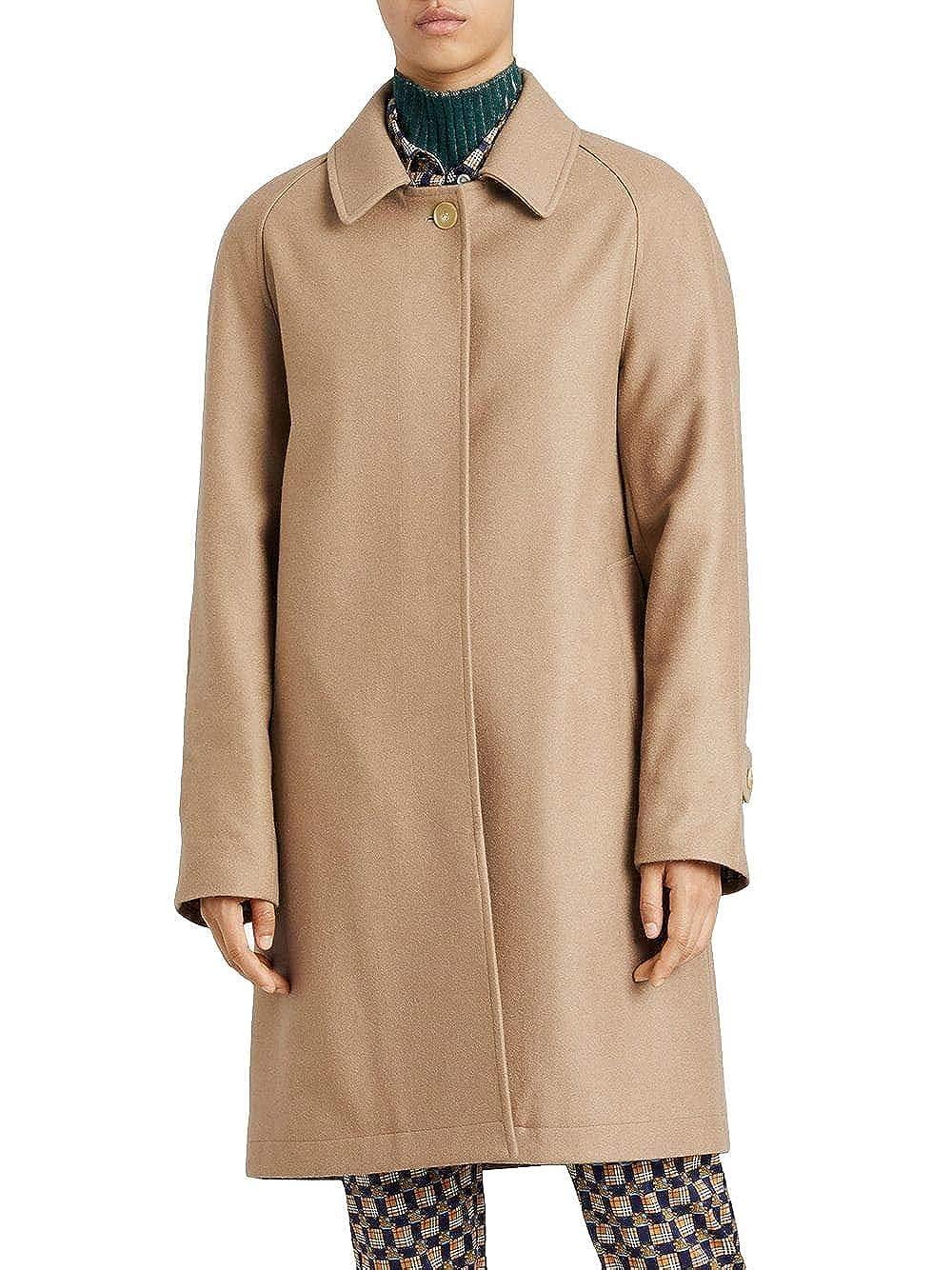 Mantel Braun Damen 8002882 BURBERRY Luxury Fashion m0wN8nv