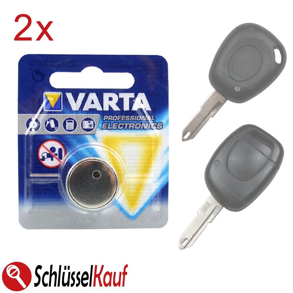 2 X Toyota Fernbedienung Zentralverriegelung Schlüssel Batterie CR2032