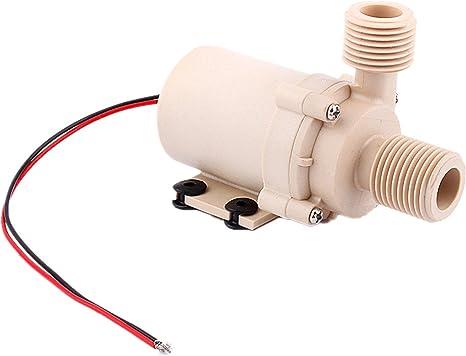 circulación 212 Fahrenheit, bomba sumergible de agua caliente Solar de 12 V