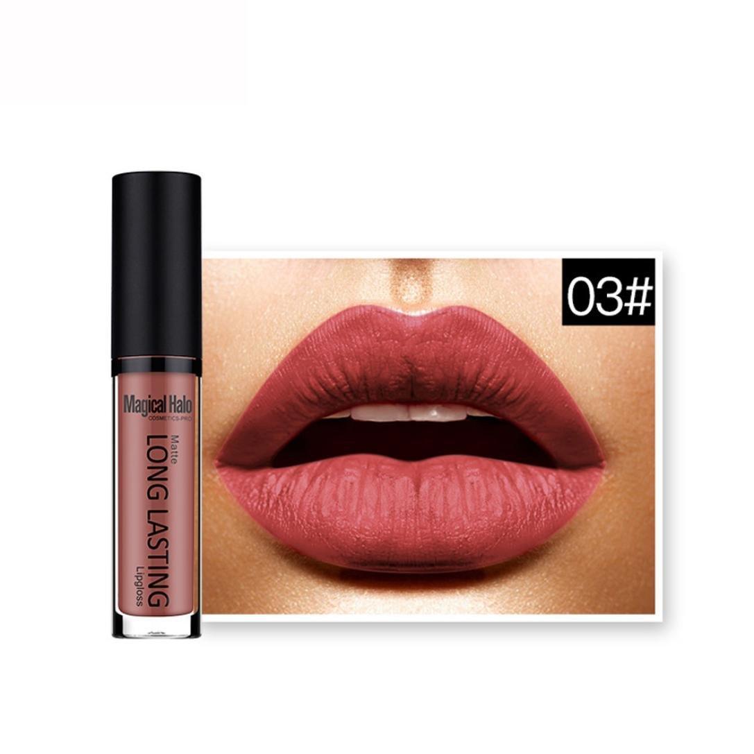 Brillant à lèvres, GreatestPAK Rouge à lèvres Durable Liquide Mat imperméable