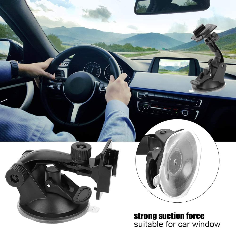 Mugast Plastic Suction Cup for Action Camera Strong Car Suction Cup Mount Action Camera Accessory for Gopro for SJCAM Xiaomi XiaoYi etc