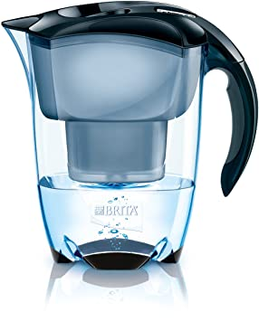 amazoncom brita elemaris cool pure black water filter pitcher water filters kitchen u0026 dining - Water Filter