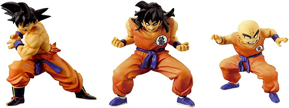 Dragon Ball - Pack 3 Figuras Set 1 : Son Goku + Krilin + Yamcha ...