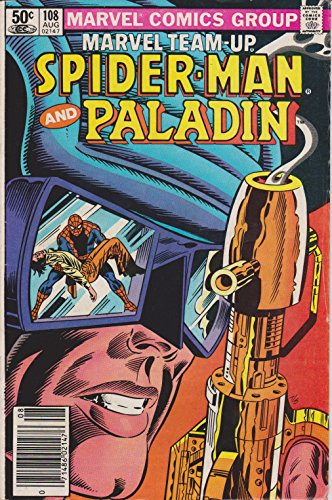 Marvel Team-up: Spiderman and Paladin (0714860214708, Vol. 1, No. 108, August 1981)
