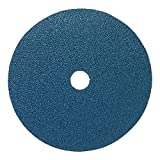 Mercer Industries 309036 36 Grit Zirconia Resin Fiber Discs (25 Pack), 7 x 7/8