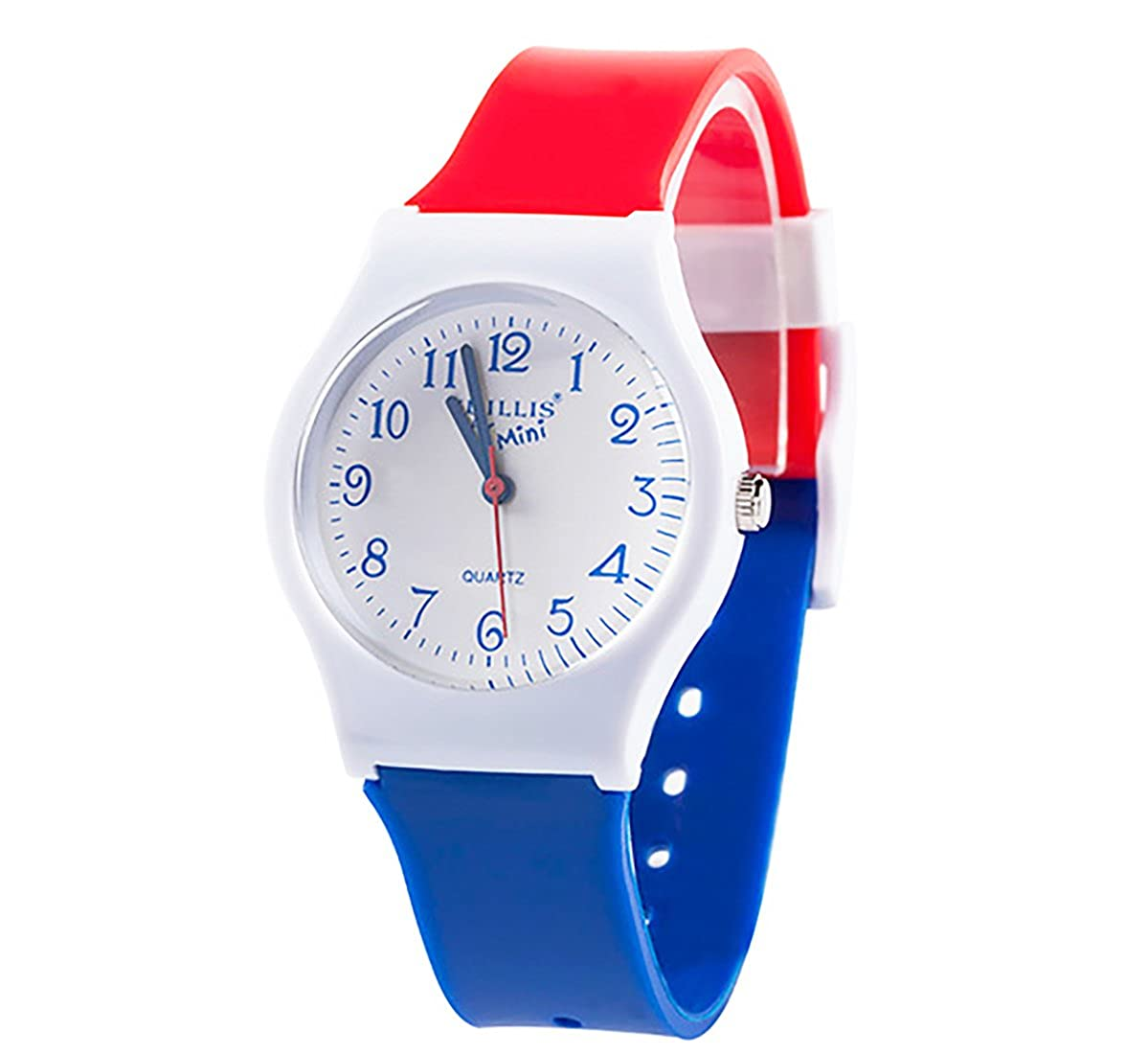 Amazon.com: Kids Boys Girls Children Watches,Teen Student Time Teacher Watch Resin Band Wristwatches for Boys Girls(Red&Blue): Watches