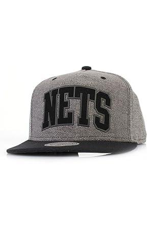 Mitchell & Ness Mujeres Gorra Snapback Rewind Brooklyn Nets ...